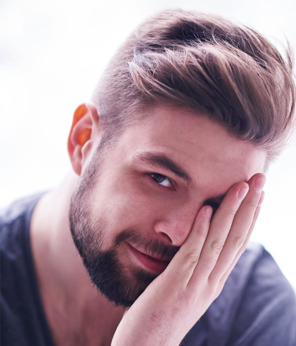Want a cool style for this summer? Here's one of the new short haircuts for men 2015. This quick and easy men's hairstyle works with and without a beard.