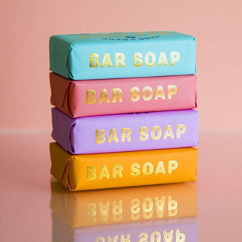 4 pack assorted bar soap set #soappackaging