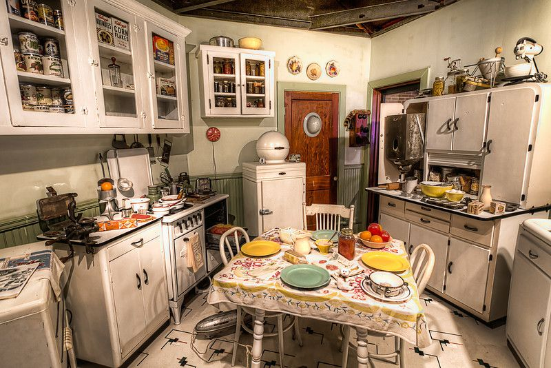 Remake of a c 1940s kitchen at the national naval for Kitchen remake