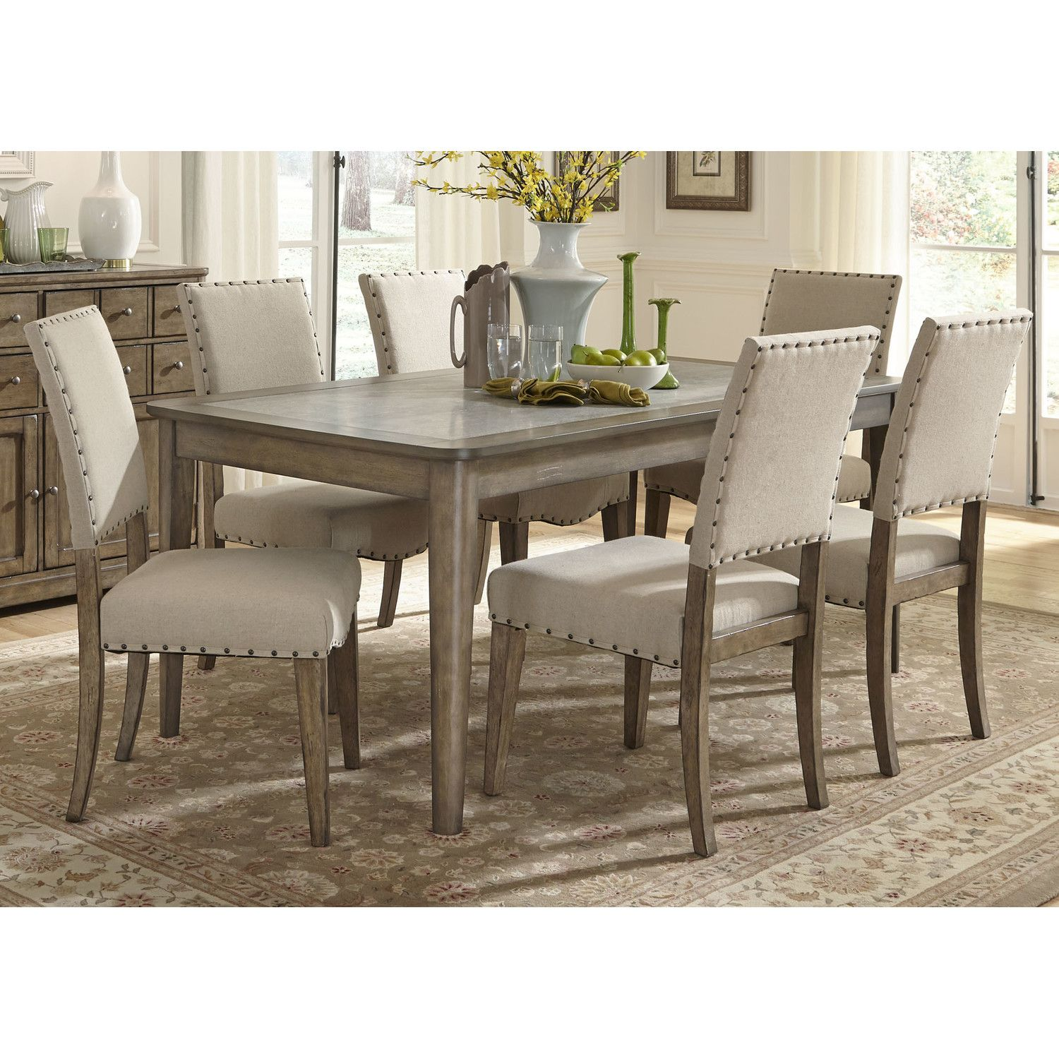 Set De Cuisine Moderne Liberty Furniture 7 Piece Dining Set Houses Rooms And Decor