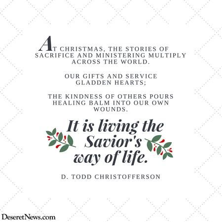U0027A Time For Remembering The Son Of Godu0027: 26 Christmas Quotes From LDS
