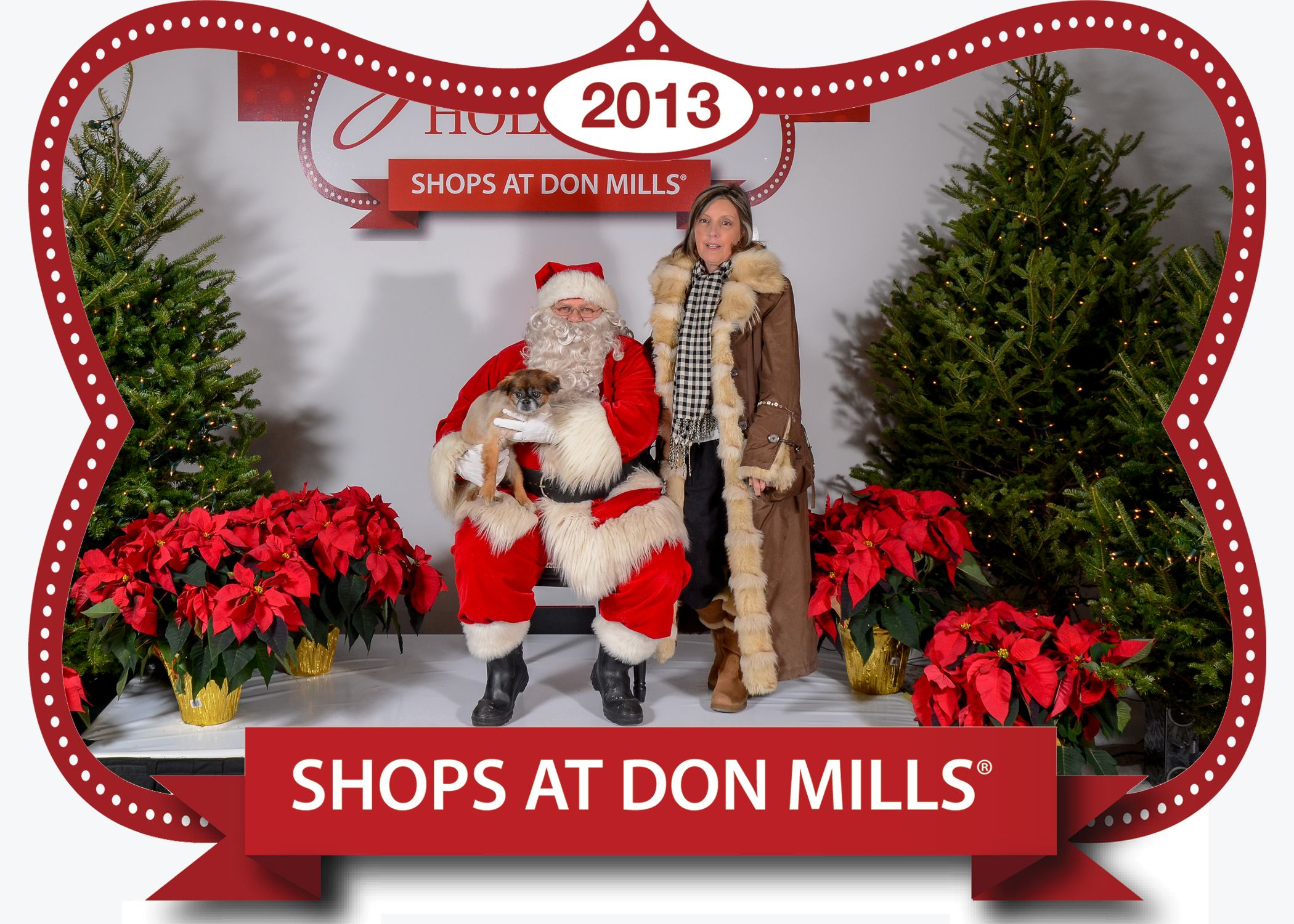 Picture campaign with Santa and your pet.