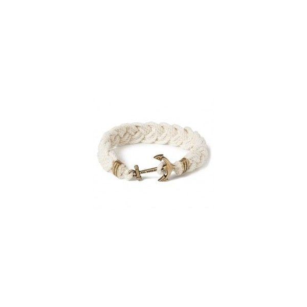 Kiel James Patrick Cape Knot Hitch Bracelet ❤ liked on Polyvore