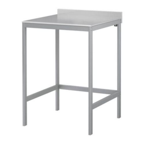 UDDEN-Arbeitstisch-Edelstahl-Kuechentisch-IKEA-NEU-OVP-64cmX64cm