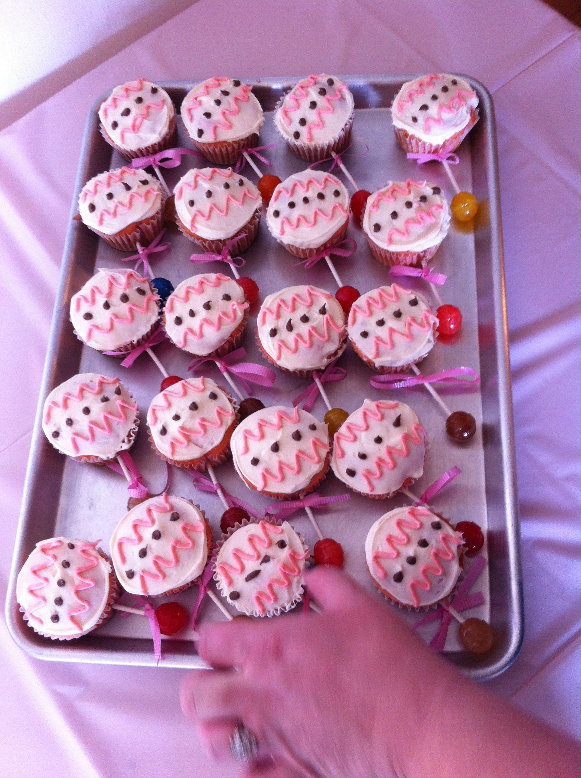 Baby rattle cupcakes rattle cupcakes baby rattle