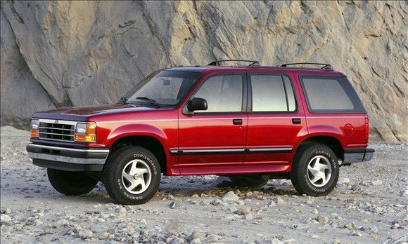 Most Influential Cars Of The 90s Ford Explorer Ford Suv Ford Explorer Sport