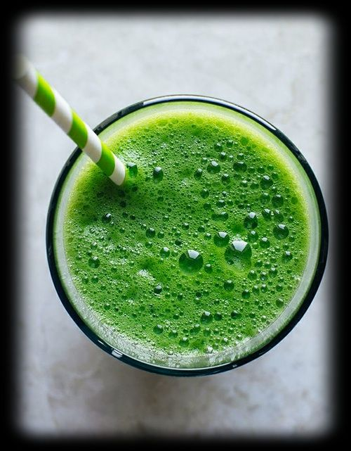Re-energize your afternoon with a green smoothie!