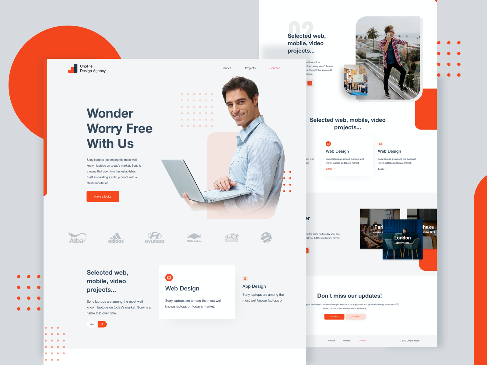 Unopie Design Agency In 2020 Agency Website Design Design Agency Web Design