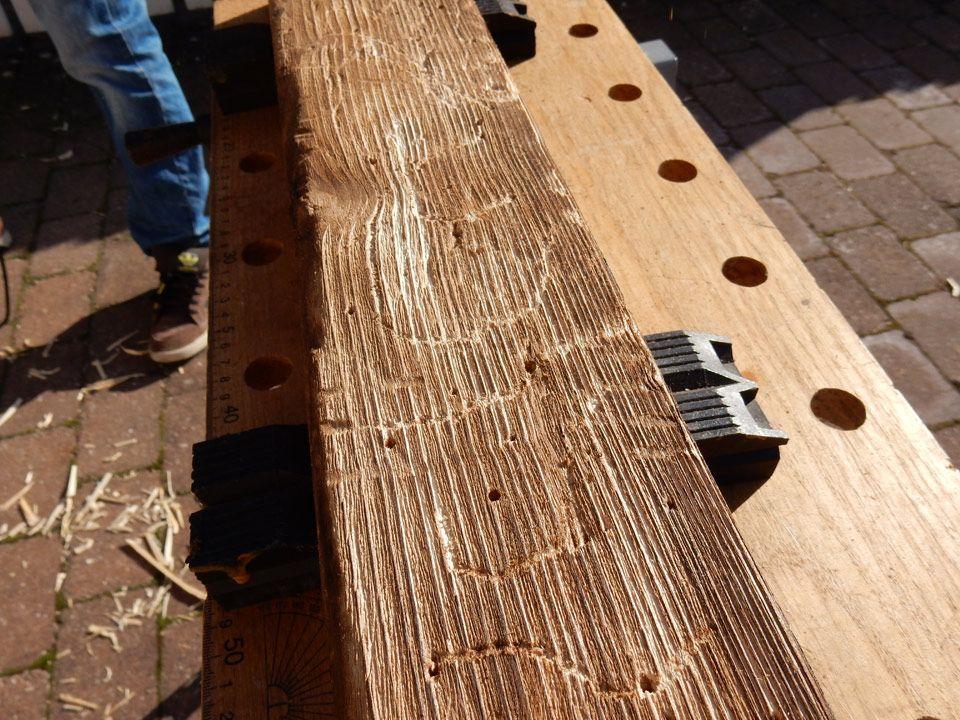 Holz Mit Wenigen Handriffen Künstlich Altern Lassen Holz