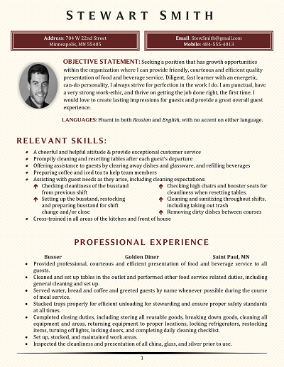 Tolchester Functional Resume Business Etiquette Resume