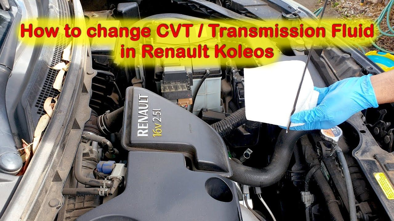 This Video Is About How To Change The Automatic Transmission Fluid In Your Car Renault Koleos Warning Oil Change Automatic Transmission Fluid Transmission