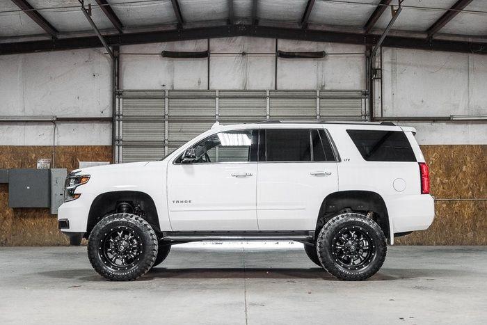 2016 Tahoe Lifted >> Lifted 2016 Chevrolet Tahoe 4x4 Ltz 59 878 Trucks I Like
