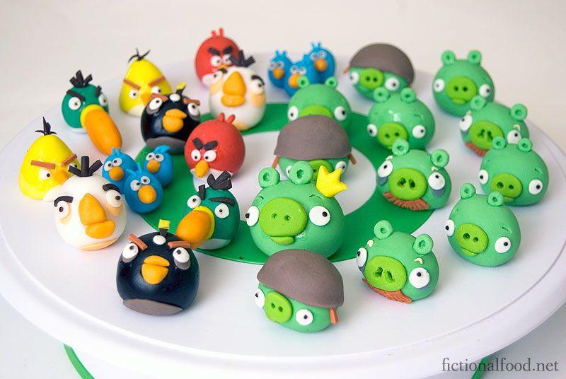 Angry Birds Fondant Figures | Fondant Figures | Angry ...