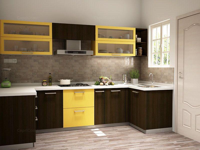 Ushaped Koto Modular Kitchen On Capricoast Is Fulfilled Captivating Modular Kitchen U Shaped Design Decorating Design