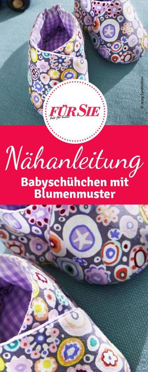 Babyschuhe | kostenlose Muster | Pinterest | Babyschühchen, Süß und ...
