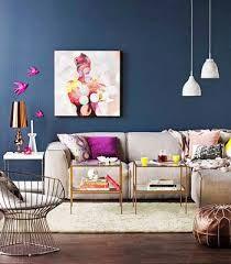 Resultado de imagem para parede azul indigo