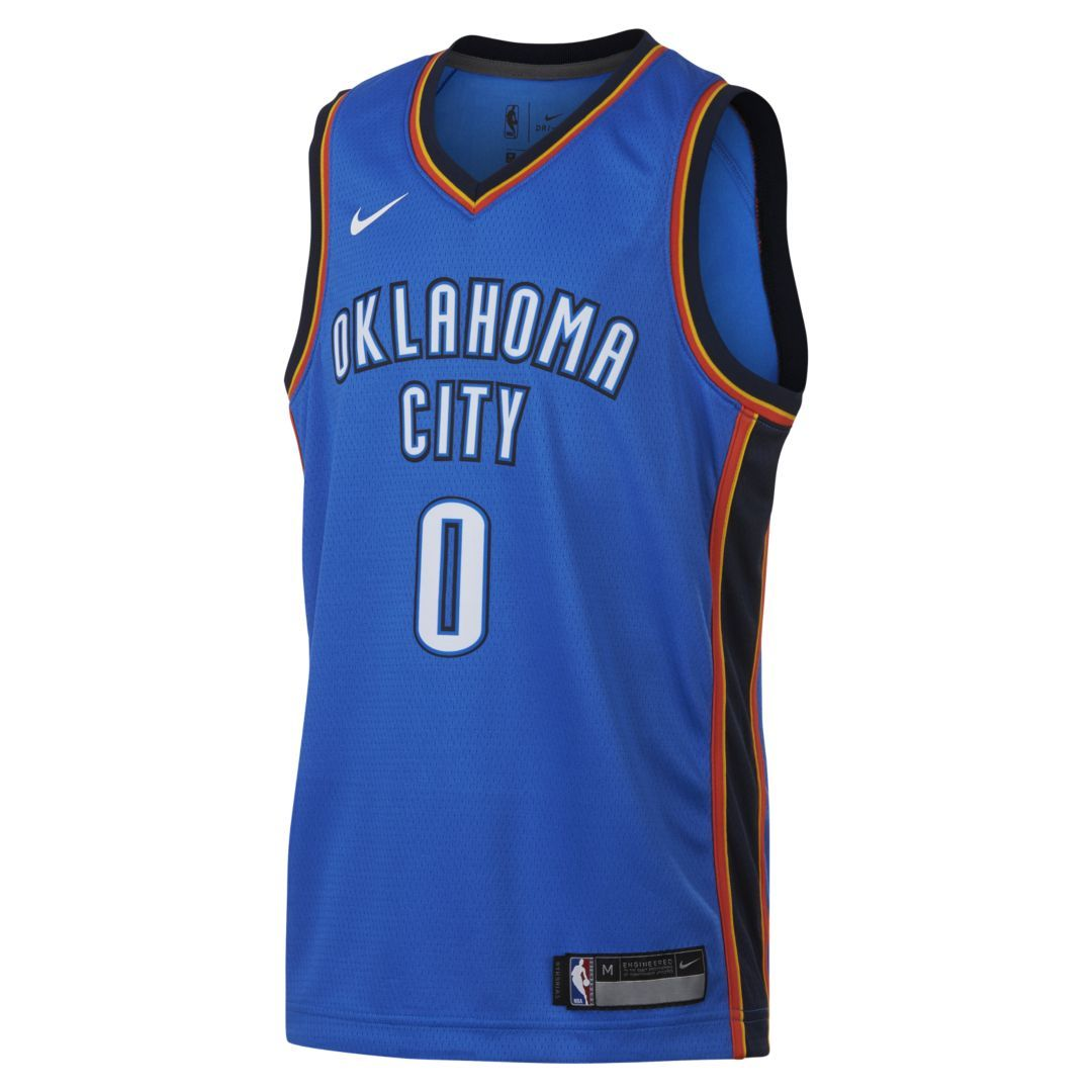 new arrival 141f6 2141f Russell Westbrook Oklahoma City Thunder Nike Icon Edition ...