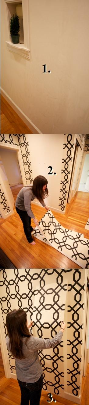 removable wallpaper sherwin williams kathy ireland kitchen remodel green light pinterest. Black Bedroom Furniture Sets. Home Design Ideas