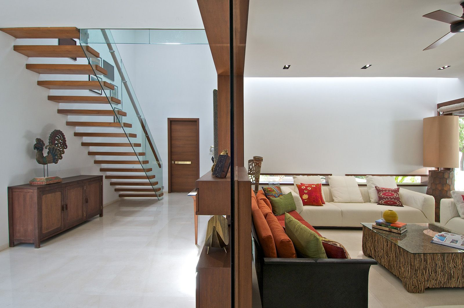 Awesome Timeless Contemporary House In India With Courtyard Zen Garden |  IDesignArch | Interior Design, Architecture