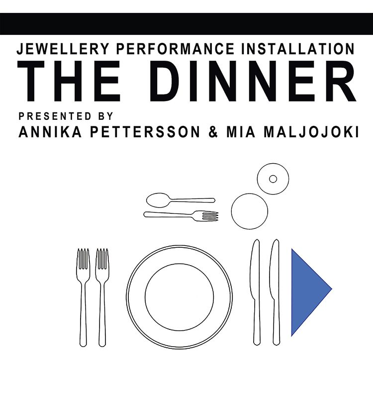 xxx The Dinner by Mia Maljojoki and Annika Pettersson Exhibition  / 24Feb2016 - 27Feb2016 Kulturzentrum Giesinger Bahnhof Munich, Germany