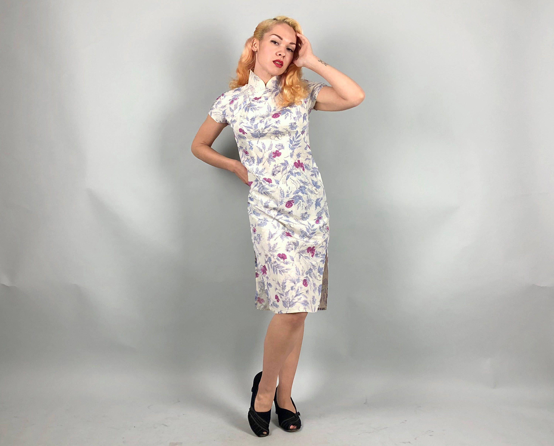 Jahrgang 1950 Kleid 50er Jahre Licht Immergrün blau und | Western ...