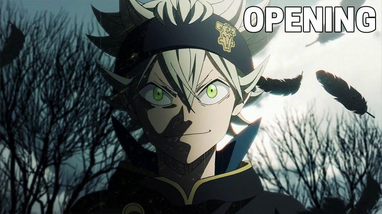 Black Clover Opening 1 (HD) Anime mangas, Trèfle à