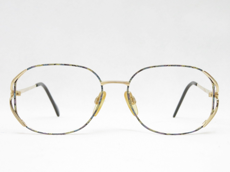 Klassische Goldene Brille Aus Den 80er Jahren Von Haushofer Optik