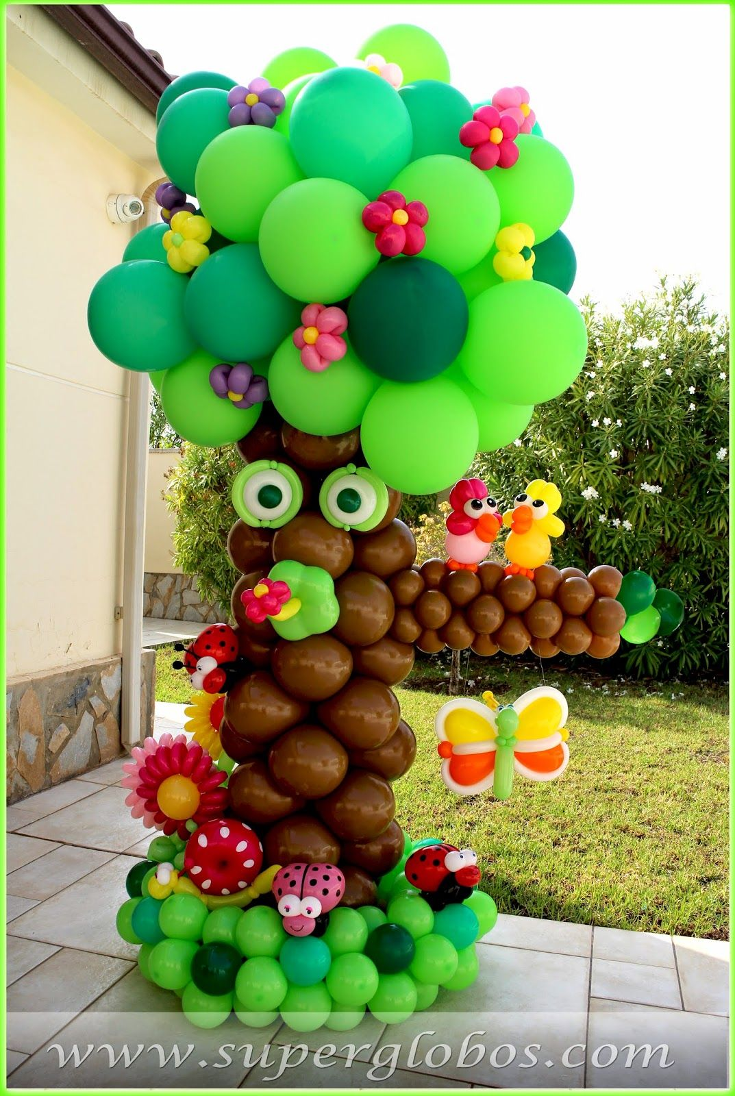 Decoracin con Globos para Eventos y Fiestas Superglobos ideas