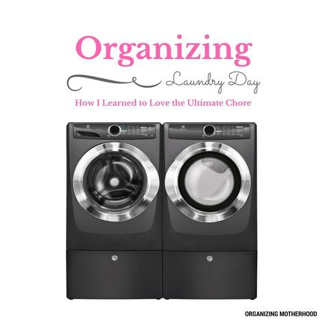 Read about how my sanity was saved using my 5 action plan for turning the mundane chore of laundry into a joy http://www.organizingmotherhood.com