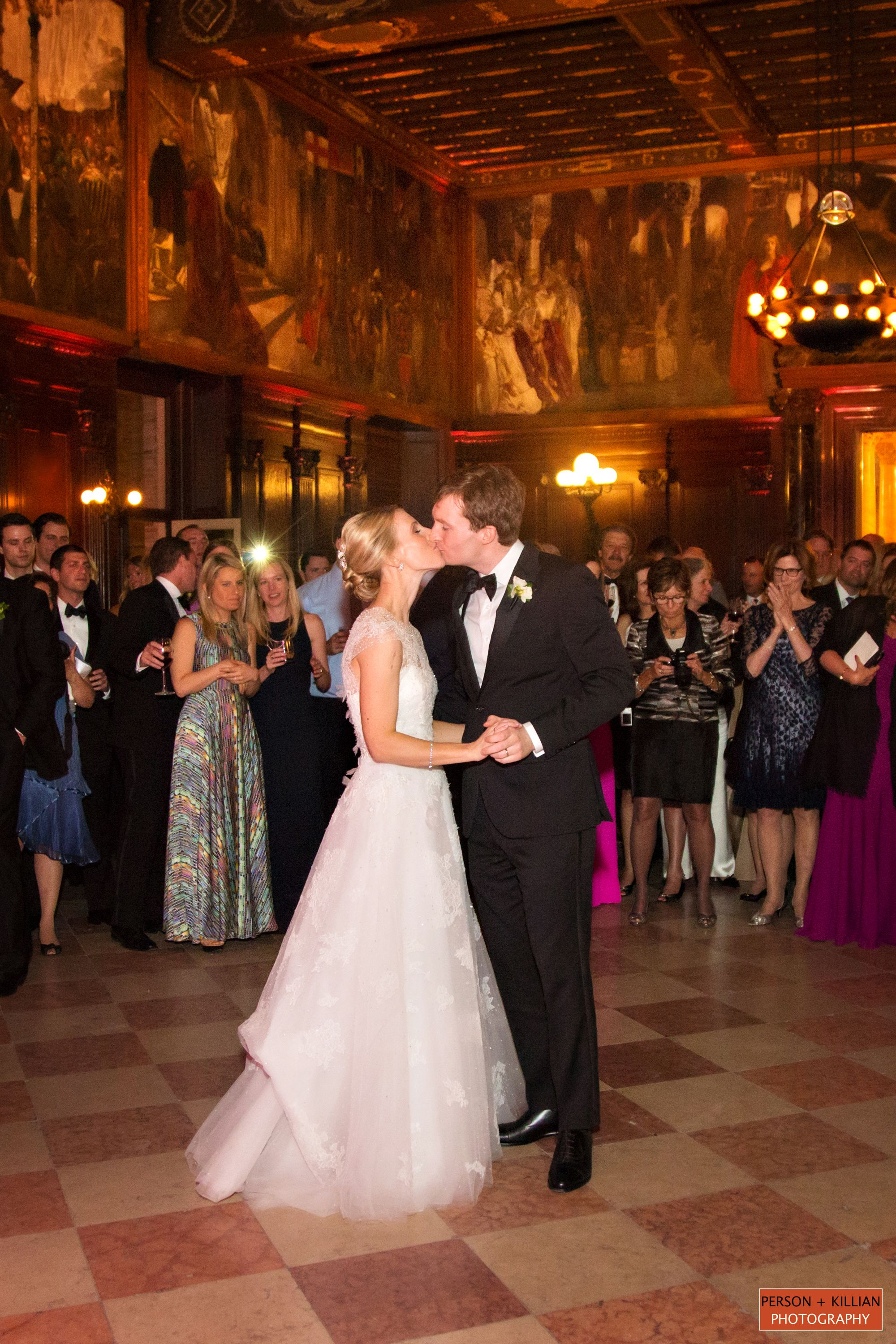 First Dance Wedding Reception At The Boston Public Library Catered Affair