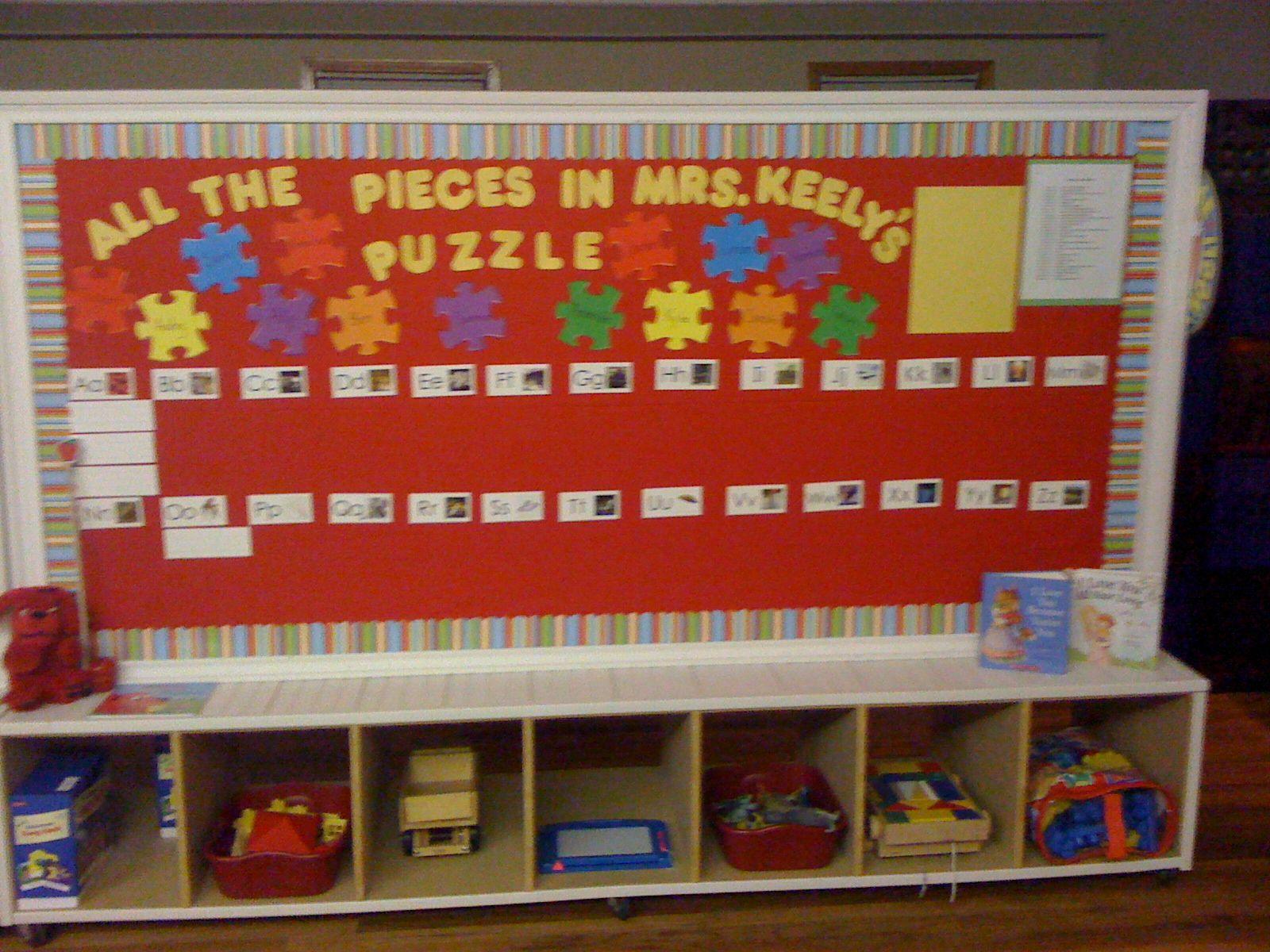 Up Classroom Decor : Preschool classroom set up decor