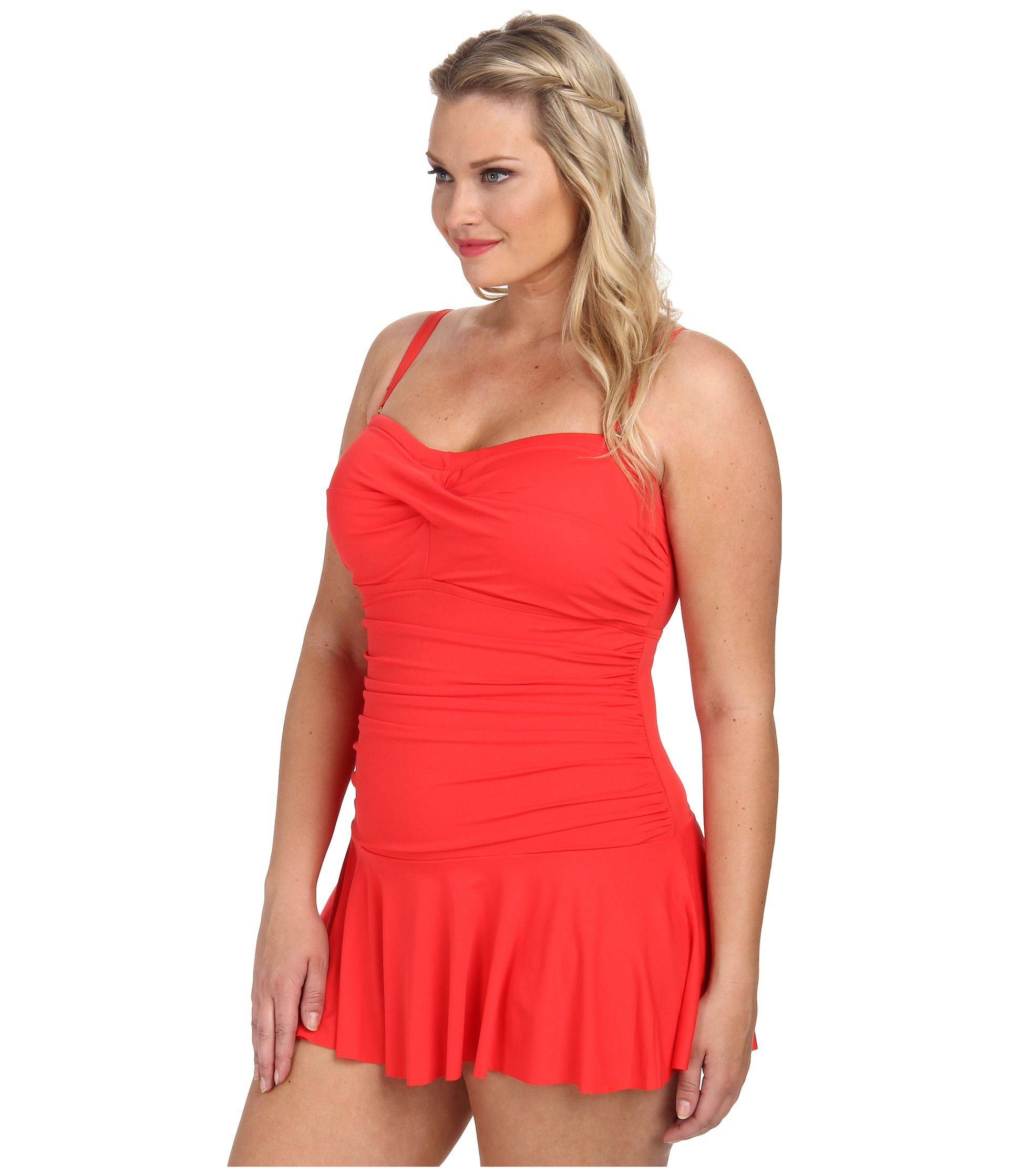 lauren-by-ralph-lauren-bright-coral-plus-size-laguna-solids-twist-shirred-skirted-slimming-fit-one-piece-pink-product-0-873041024-normal