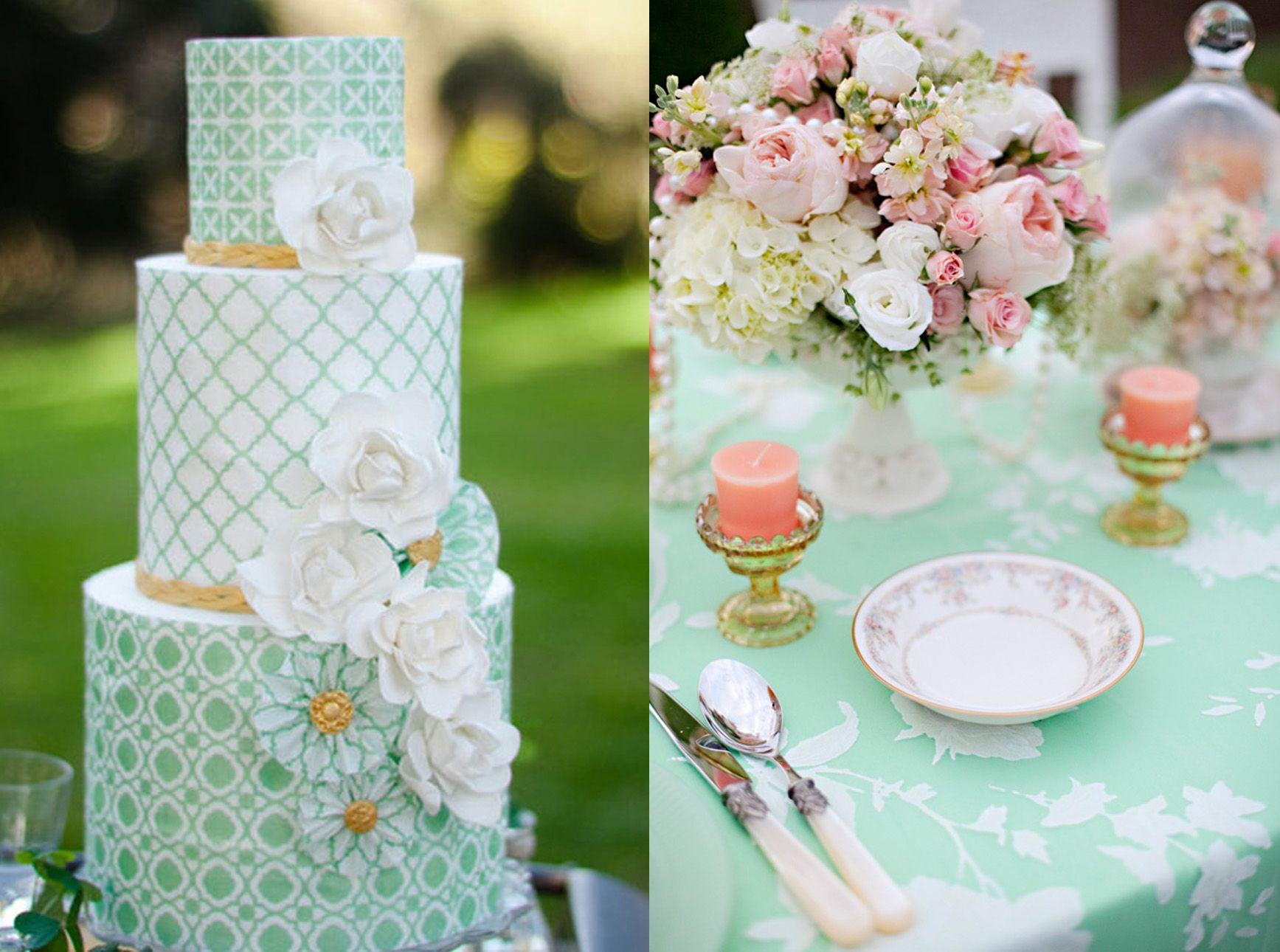 Mint Theme For Your Wedding
