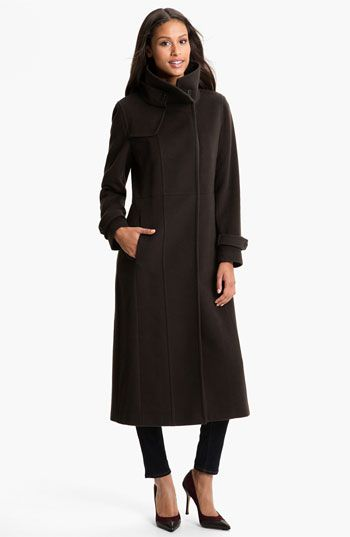 ee5f6c0e29b RAINFOREST Long Wool   Cashmere Coat available at  Nordstrom