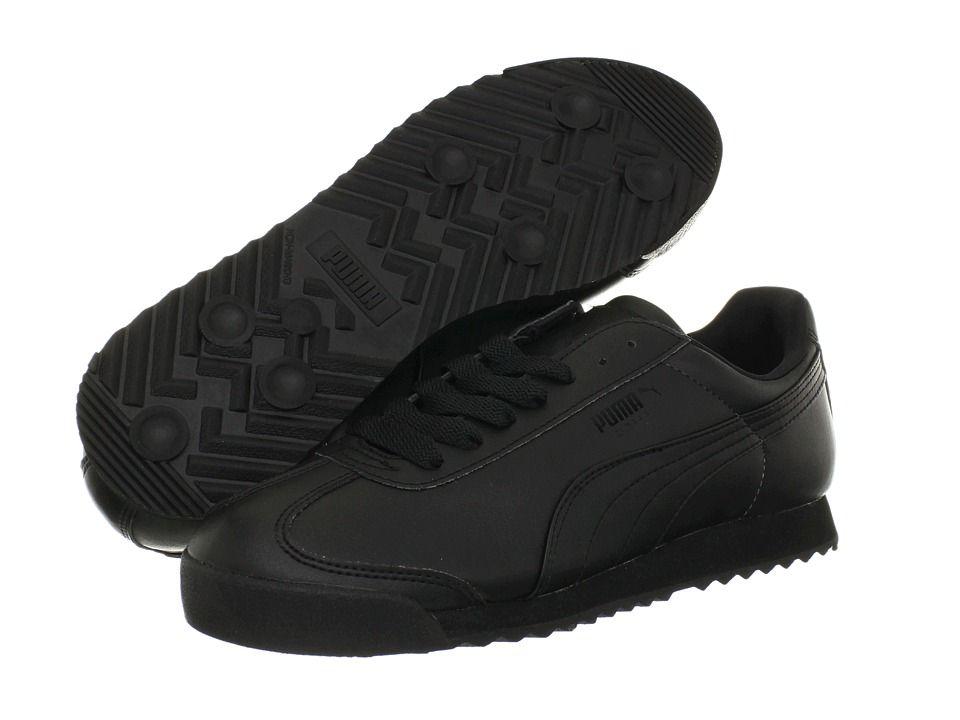 PUMA Roma Basic Men's Shoes Black/Black