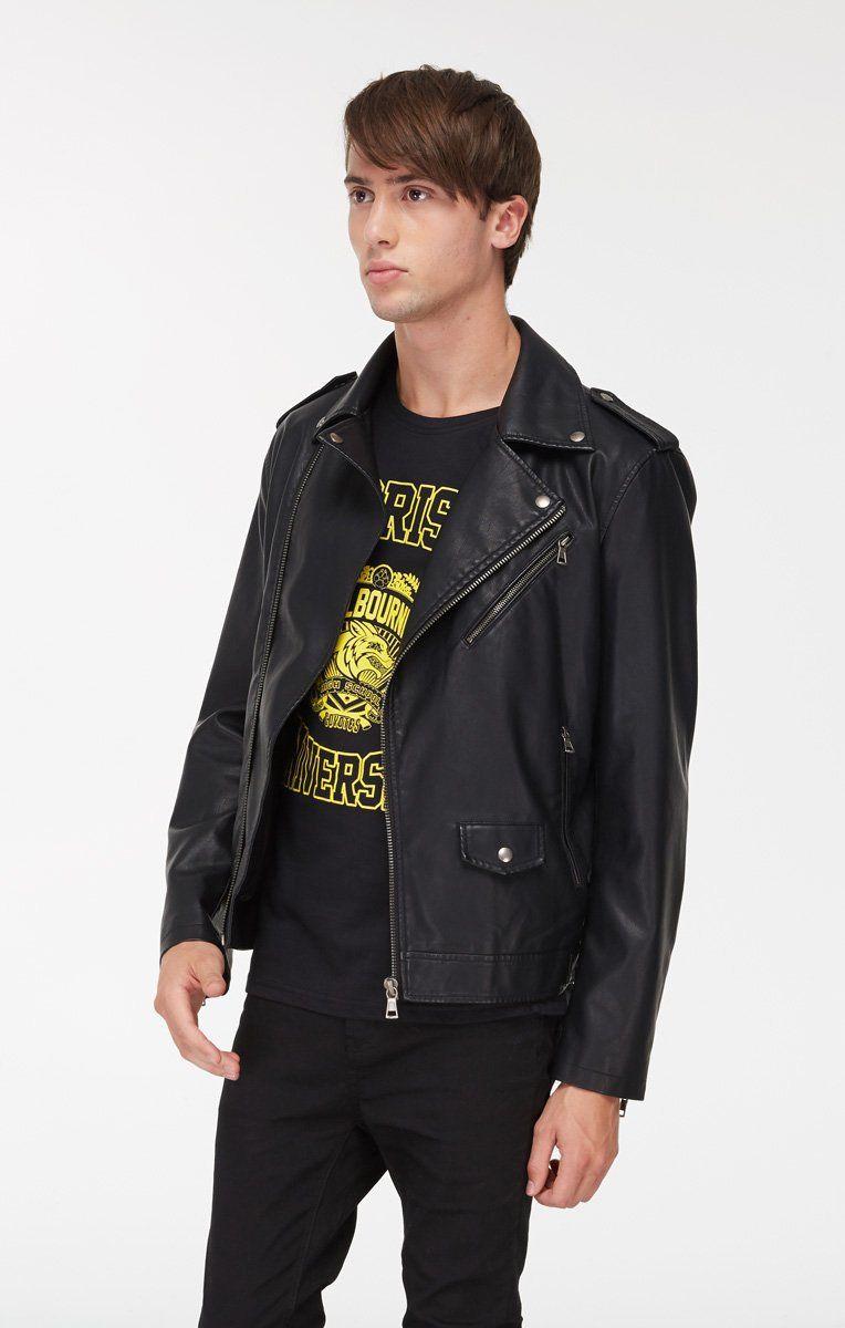 Men S Vegan Leather Jacket Vegan Leather Jacket Winter Coats Jackets Winter Coat [ 1200 x 764 Pixel ]
