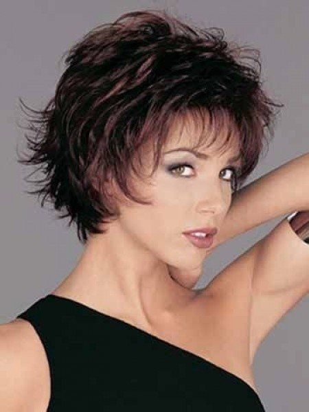 Haircuts For Thin Hair And Round Face Short Haircuts For Fine Short