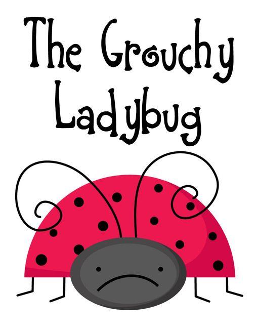 Free The Grouchy Ladybug Lapbook Grouchy Ladybug Feelings