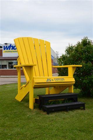 Adirondack Chair Winnipeg Manitoba Roadside Attractions