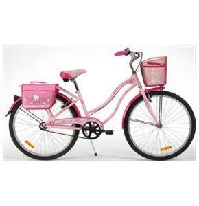 Bici Hello Kitty Cruise Flower Misura 26 Da Donna Bicibike