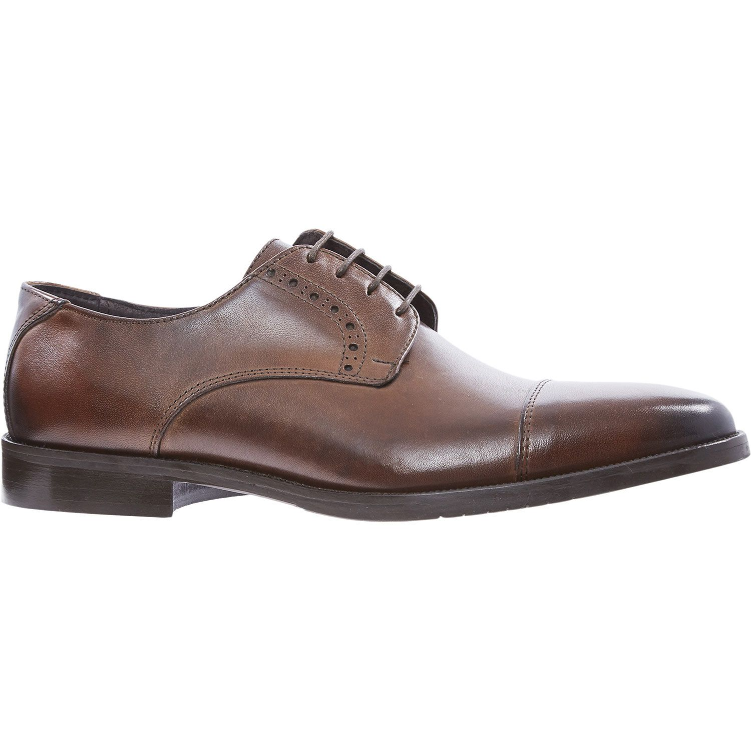 quot o mario quot brown leather derby shoes tk maxx shopping