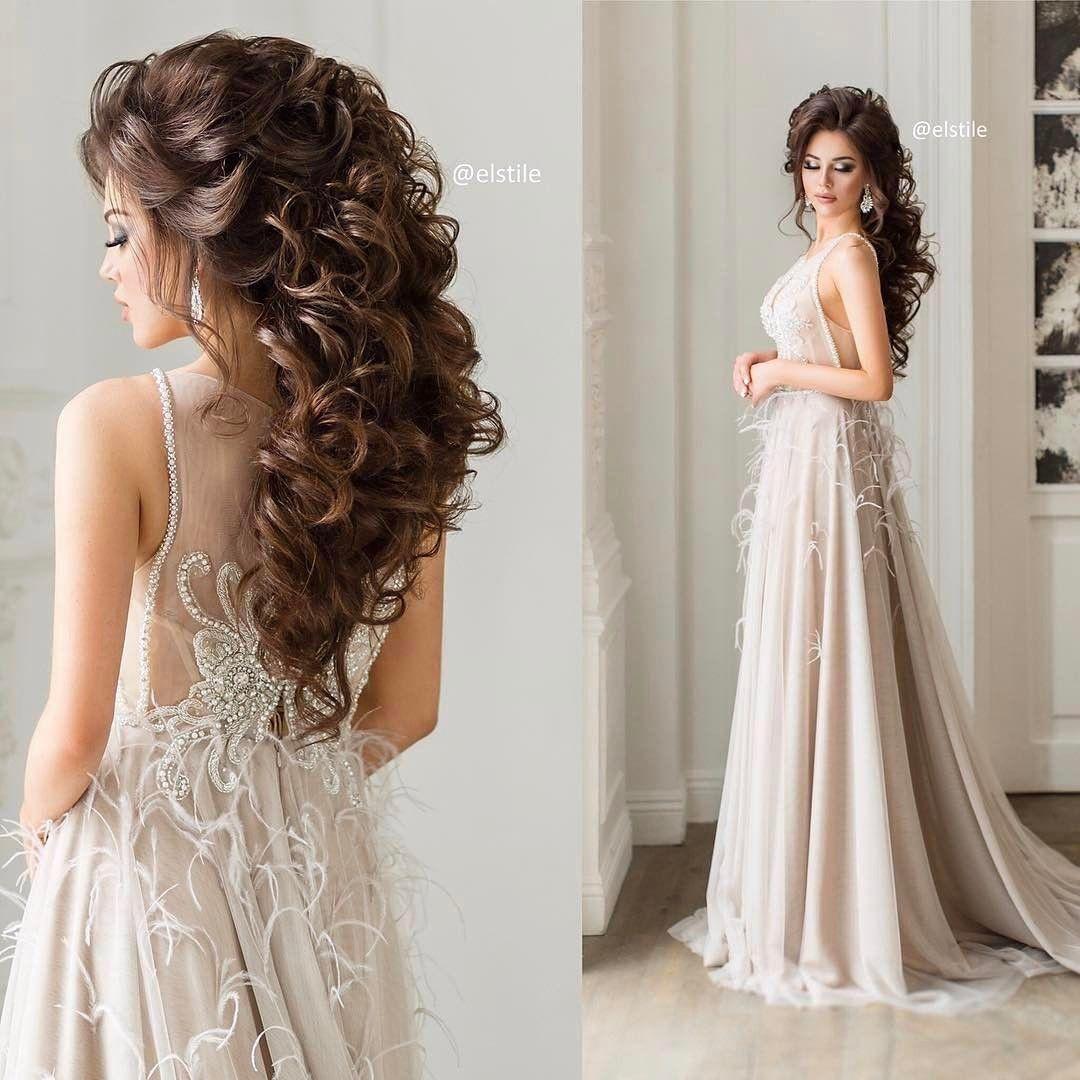 Amazing Wedding Hairstyles: Wedding Hair @elstilela @elstile @elstilespb Wedding Hair