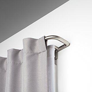 Umbra Twilight Room Darkening Double Curtain Rod For Window 28 To