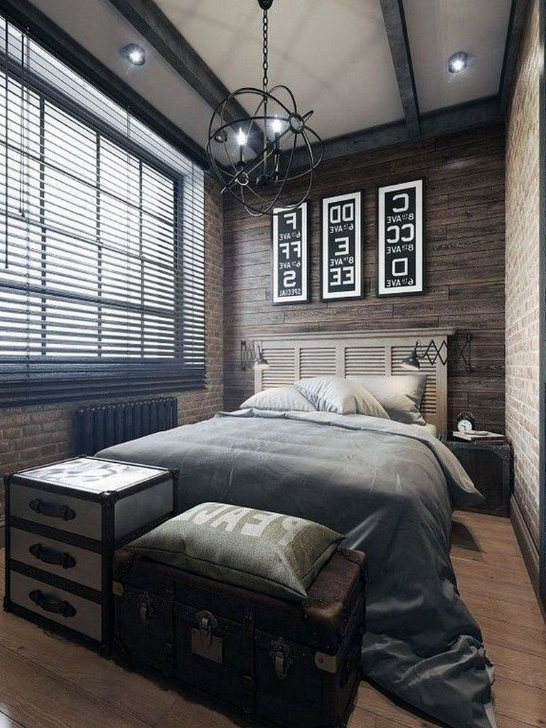 30+ Cozy And Simple Modern Bedroom Ideas For Men # ... on Small Room Decor Ideas For Guys  id=68314