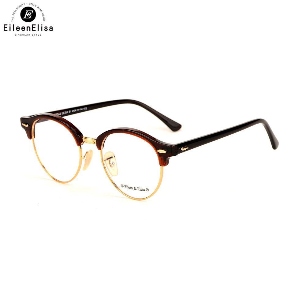 EE New Black Eyeglasses Frames Fashion Glasses Computer Optical ...