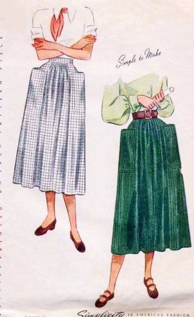 Vintage Sewing Projects