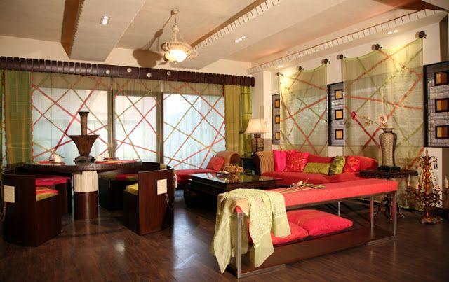 Indian Interior Design · Indisches WohnzimmerIndische Innenarchitektur Indische HäuserIndische InnenräumeHausmöbelWohnzimmermöbelDesign Stile