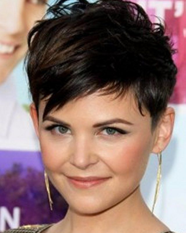 Short Haircuts With Bangs For Women With Round Faces Short Haircuts Thick Hair Round Faces Fa Short Hair Styles For Round Faces Thick Hair Styles Hair Styles
