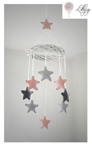 mobile sterne baby pinterest kinderzimmer n hen und baby. Black Bedroom Furniture Sets. Home Design Ideas