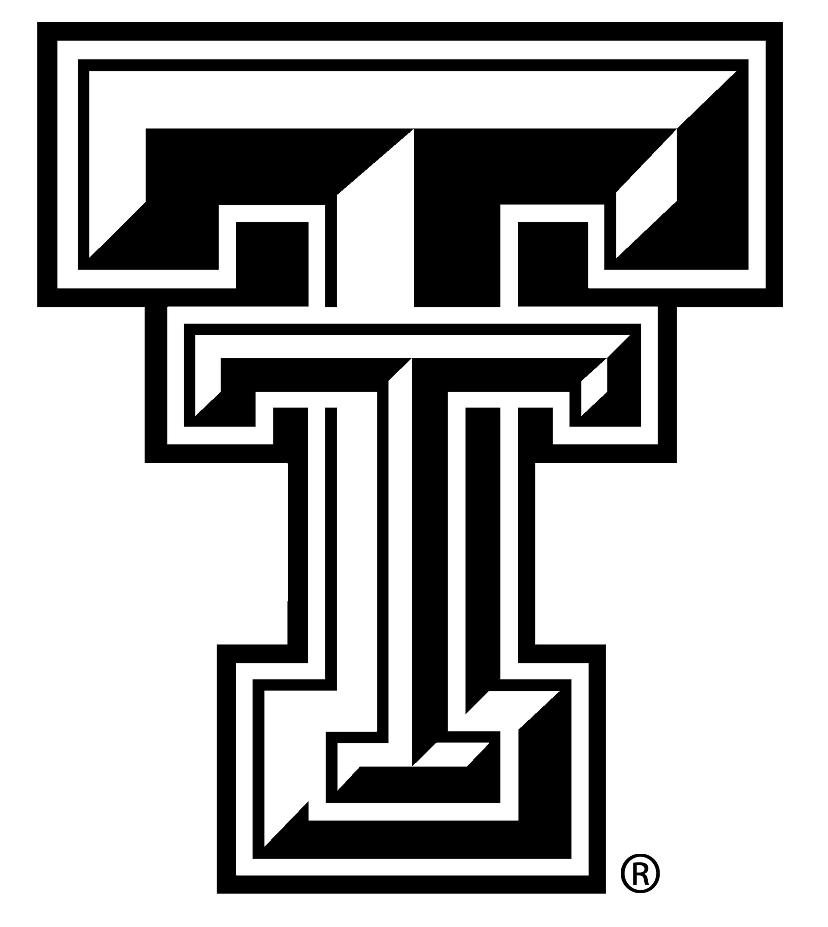 Texas tech athletics. Logo clip art low